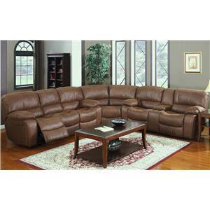 Kian 3365 3 Pc Reclining Sectional Sofa
