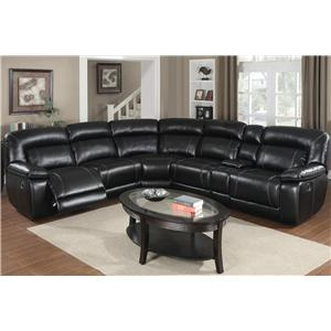 Kian 3550 Reclining Sectional Sofa