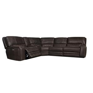 Power Reclining Sectional with Power Headres