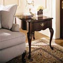 Kincaid Furniture Carriage House Rectangular Drawer End Table - 60022