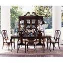 Kincaid Furniture Carriage House Queen Anne Rectangular Leg Dining Table - 60056