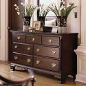 Kincaid Furniture Carriage House Double Dresser with Seven Drawers - 60110