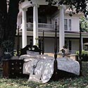 Kincaid Furniture Carriage House Queen Broken Pediment Rice Bed - 60137 - Bed Shown May Not Represent Size Indicated