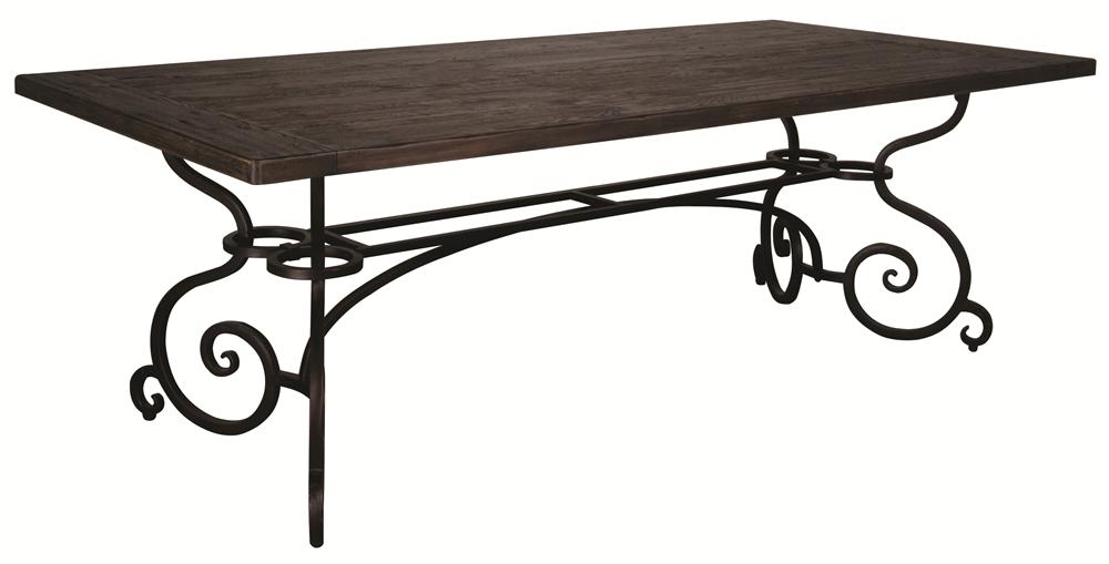 Morris Home Furnishings Middleburg Middleburg 2 Piece Dining Table - Item Number: 90-2139Z/49Z