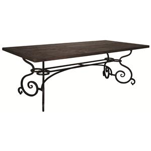 Morris Home Furnishings Middleburg Middleburg 2 Piece Dining Table