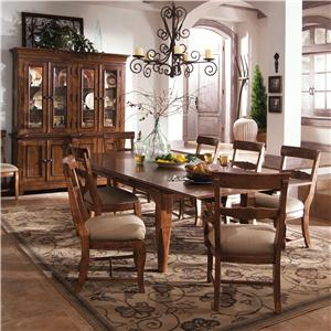 Kincaid Furniture Tuscano 9Pc Dining Room