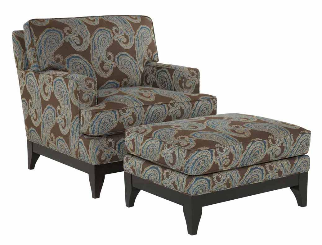 Alston Chair and Ottoman Set by Kincaid Furniture at Johnny Janosik