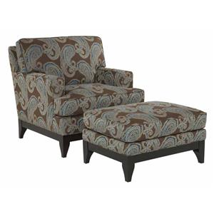 Kincaid Furniture Alston Chair and Ottoman Set