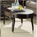 Kincaid Furniture Alston Oval Cocktail Table - 92-023 - Shown in living room setting