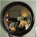 Kincaid Furniture Alston Round Mirror - 92-112 - Shown decorating wall