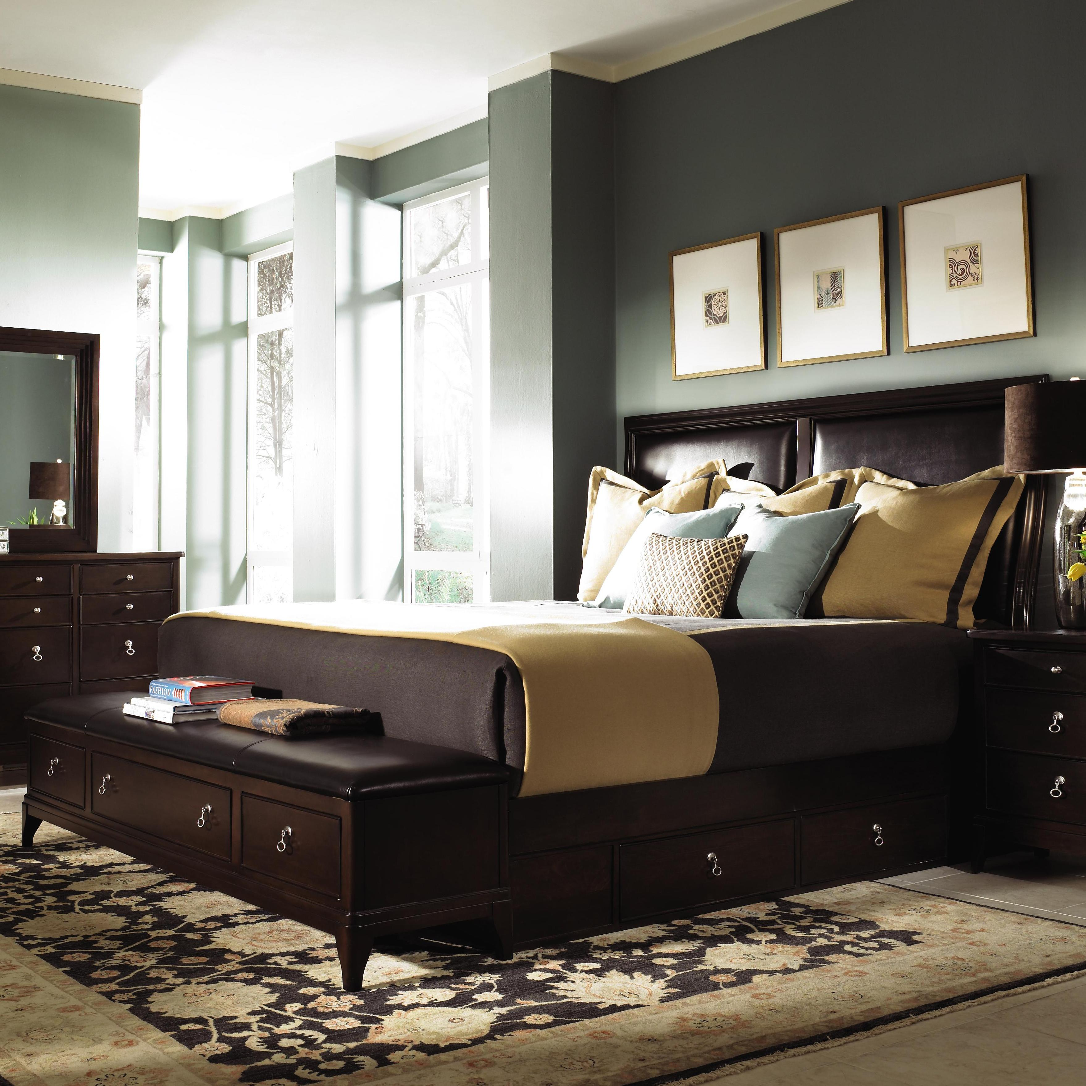 signature bench design queen furniture products beds footboard storage with ashley upholstered by bed