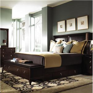 Kincaid Furniture Alston King Storage Bed
