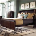 Kincaid Furniture Alston King Alston Low Profile Bed - 92-152P - Bed Shown May Not Represent Size Indicated