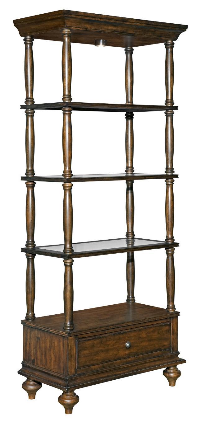 Kincaid Furniture Artisans Shoppe Accents Birmingham Etagere - Item Number: 90-1102