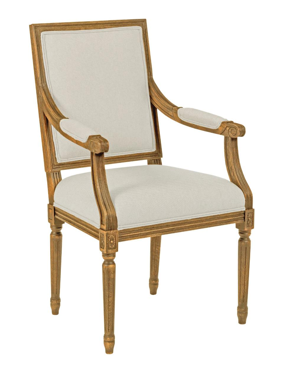 Kincaid Furniture Artisans Shoppe Accents French Dining Arm Chair - Item Number: 90-2404R