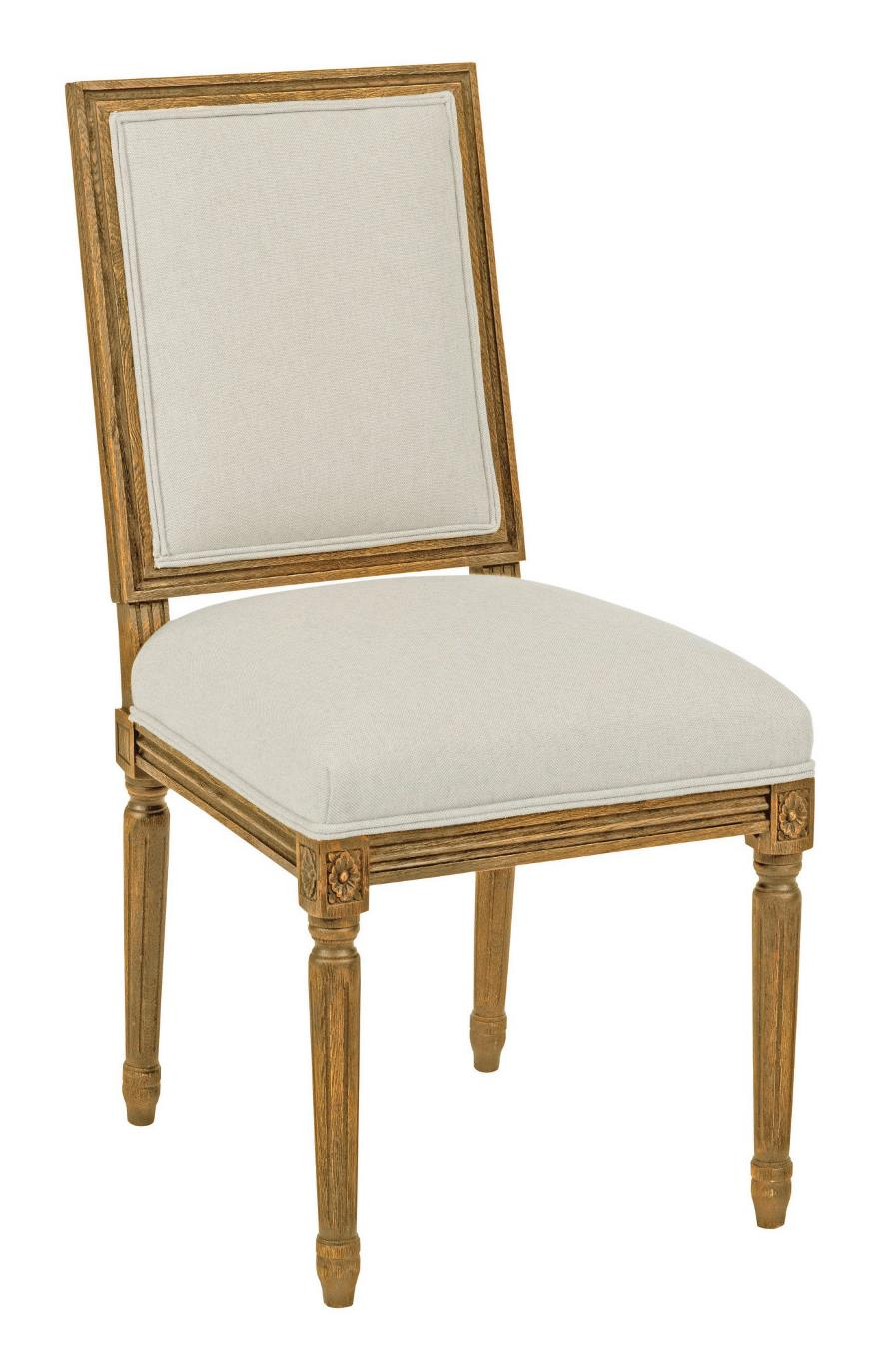 Kincaid Furniture Artisans Shoppe Accents French Side Chair - Item Number: 90-2414R