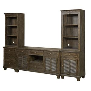 Kincaid Furniture Artisans Shoppe Accents Complete Wall Unit
