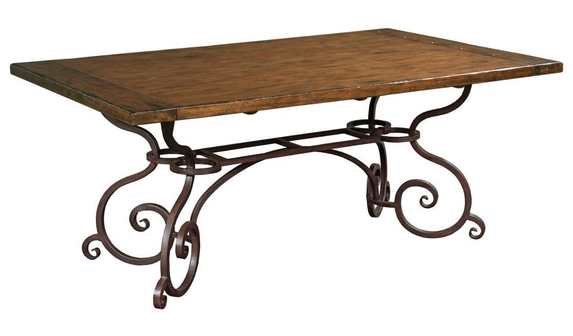 "Kincaid Furniture Artisan's Shoppe Dining 72"" Rectangular Dining Table - Item Number: 90-2115P"