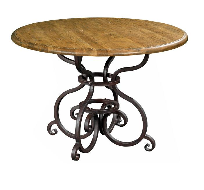 "Kincaid Furniture Artisan's Shoppe Dining 44"" Round Dining Table - Item Number: 90-2154P"