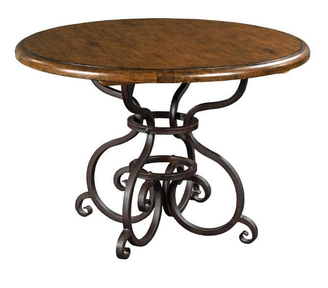 "Kincaid Furniture Artisan's Shoppe Dining 44"" Round Dining Table - Item Number: 90-2155P"