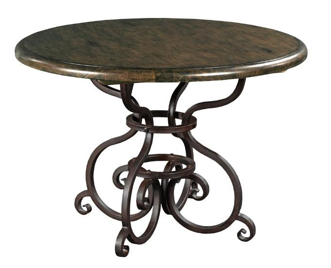 "Kincaid Furniture Artisan's Shoppe Dining 44"" Round Dining Table - Item Number: 90-2159P"