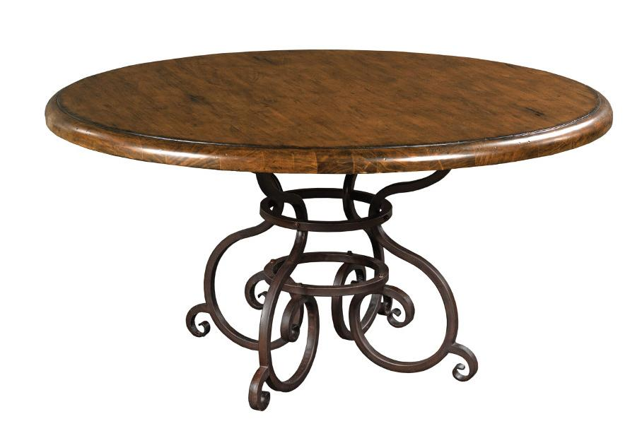"Morris Home Furnishings Middleburg Middleburg 60"" Round Dining Table - Item Number: 90-2175P"