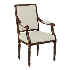 Kincaid Furniture Artisan's Shoppe Dining French Dining Arm Chair