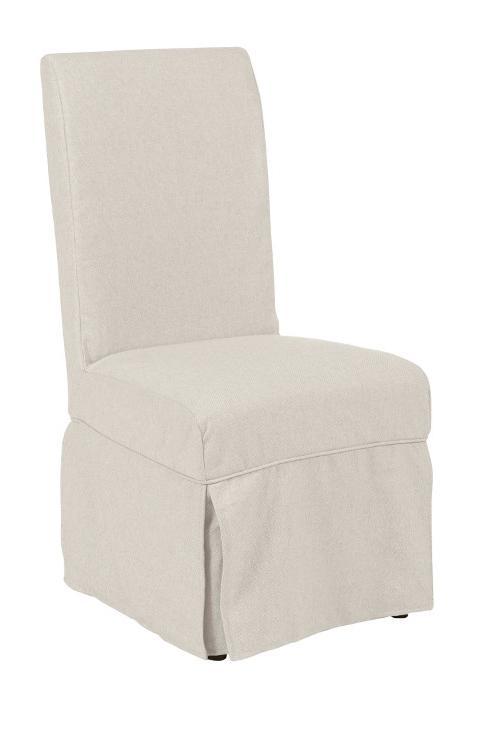 Morris Home Furnishings Middleburg Middleburg Slipcover Hostess Chair - Item Number: 90-2509