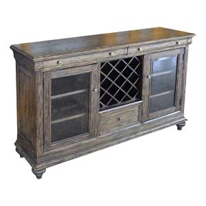 Kincaid Furniture Artisan's Shoppe Dining Cabernet Sideboard
