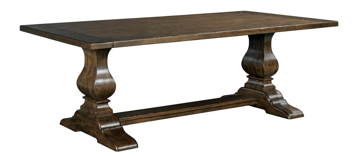 "Kincaid Furniture Artisan's Shoppe Dining 72"" Rectangular Dining Table - Item Number: 90-4119P"