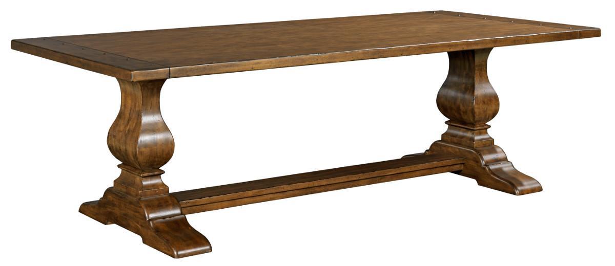 "Kincaid Furniture Artisan's Shoppe Dining 94"" Rectangular Dining Table - Item Number: 90-4135P"