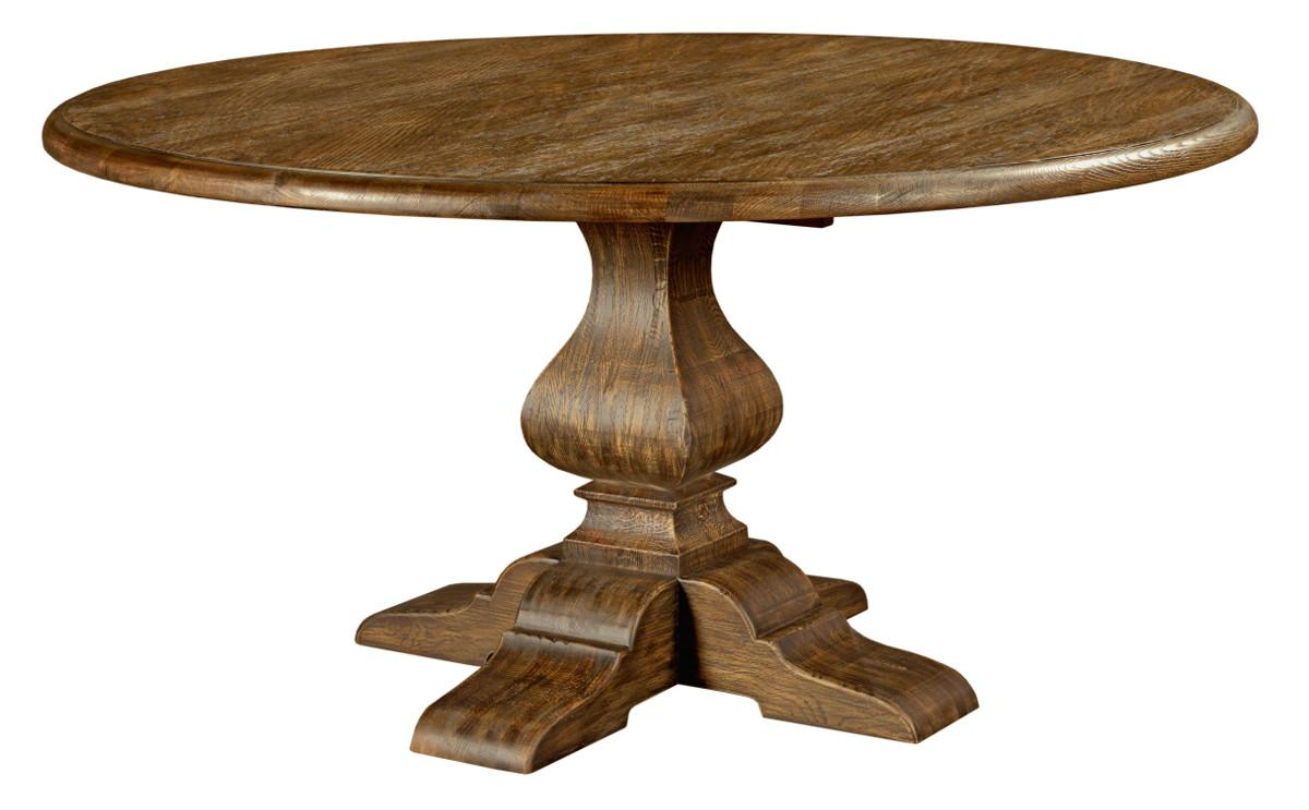 """Kincaid Furniture Artisan's Shoppe Dining 60"""" Round Dining Table - Item Number: 90-4175P"""