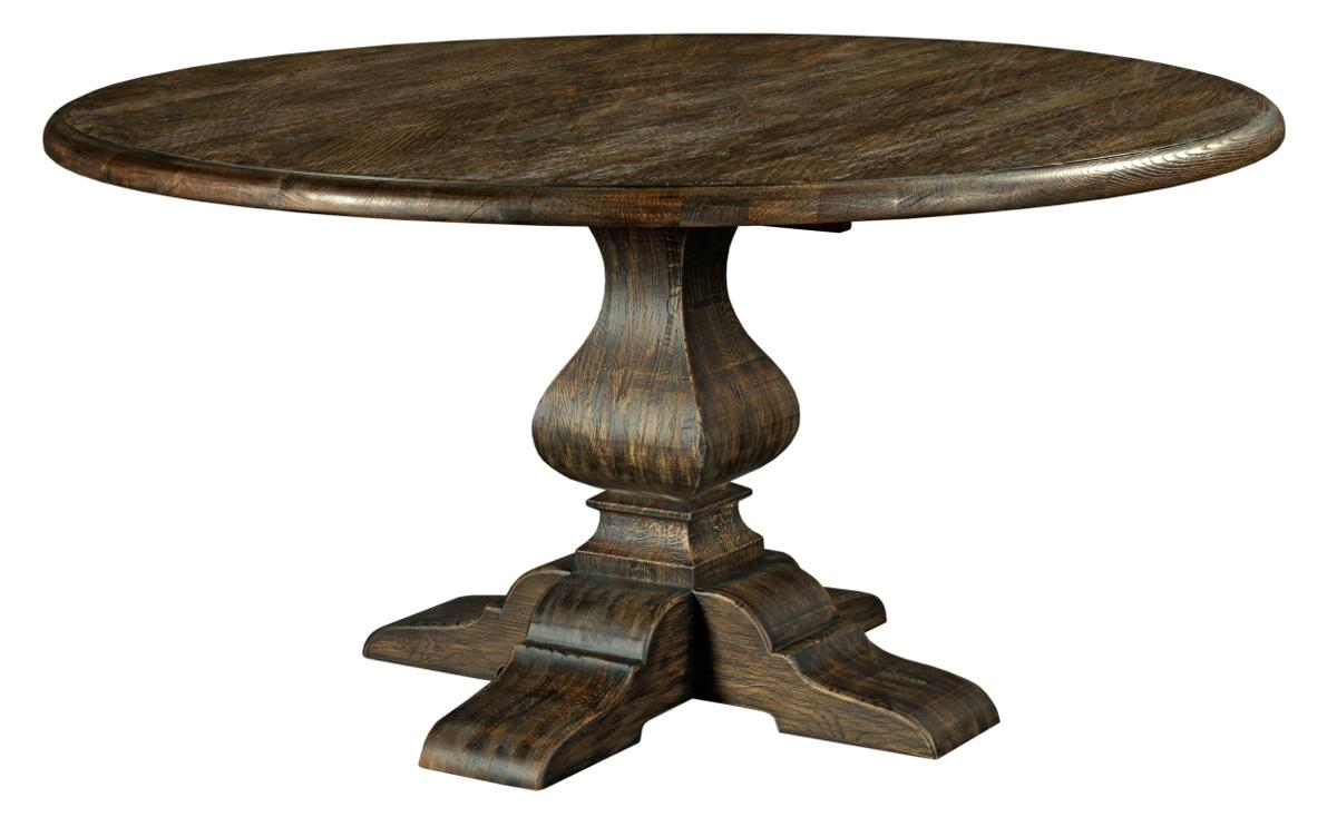 "Kincaid Furniture Artisan's Shoppe Dining 60"" Round Dining Table - Item Number: 90-4179P"