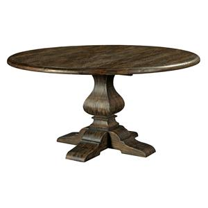 "Kincaid Furniture Artisan's Shoppe Dining 60"" Round Dining Table"