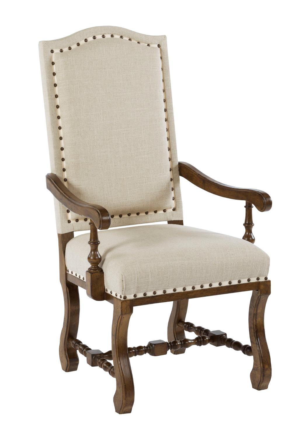 Kincaid Furniture Artisan's Shoppe Dining Upholstered Dining Armchair - Item Number: 90-4235