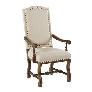 Kincaid Furniture Artisan's Shoppe Dining Upholstered Dining Armchair
