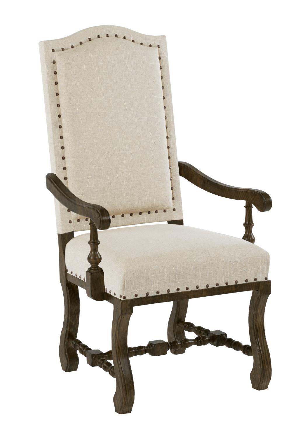 Kincaid Furniture Artisan's Shoppe Dining Upholstered Dining Armchair - Item Number: 90-4239S