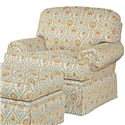 Kincaid Furniture Baltimore Upholstered Chair with Rolled Arms