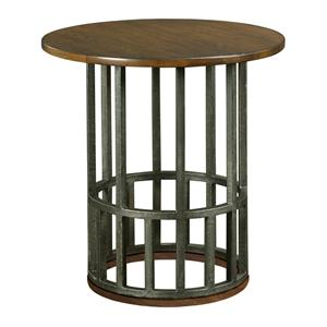Kincaid Furniture Bedford Park Round Accent End Table