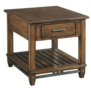 Kincaid Furniture Bedford Park Rectangular End Table with Drawer