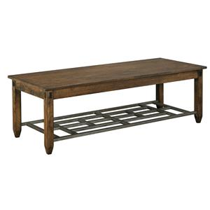 Kincaid Furniture Bedford Park Bedford Rectangular Cocktail Table