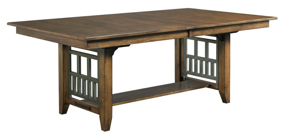 Kincaid Furniture Bedford Park Bedford Trestle Dining Table - Item Number: 74-054P