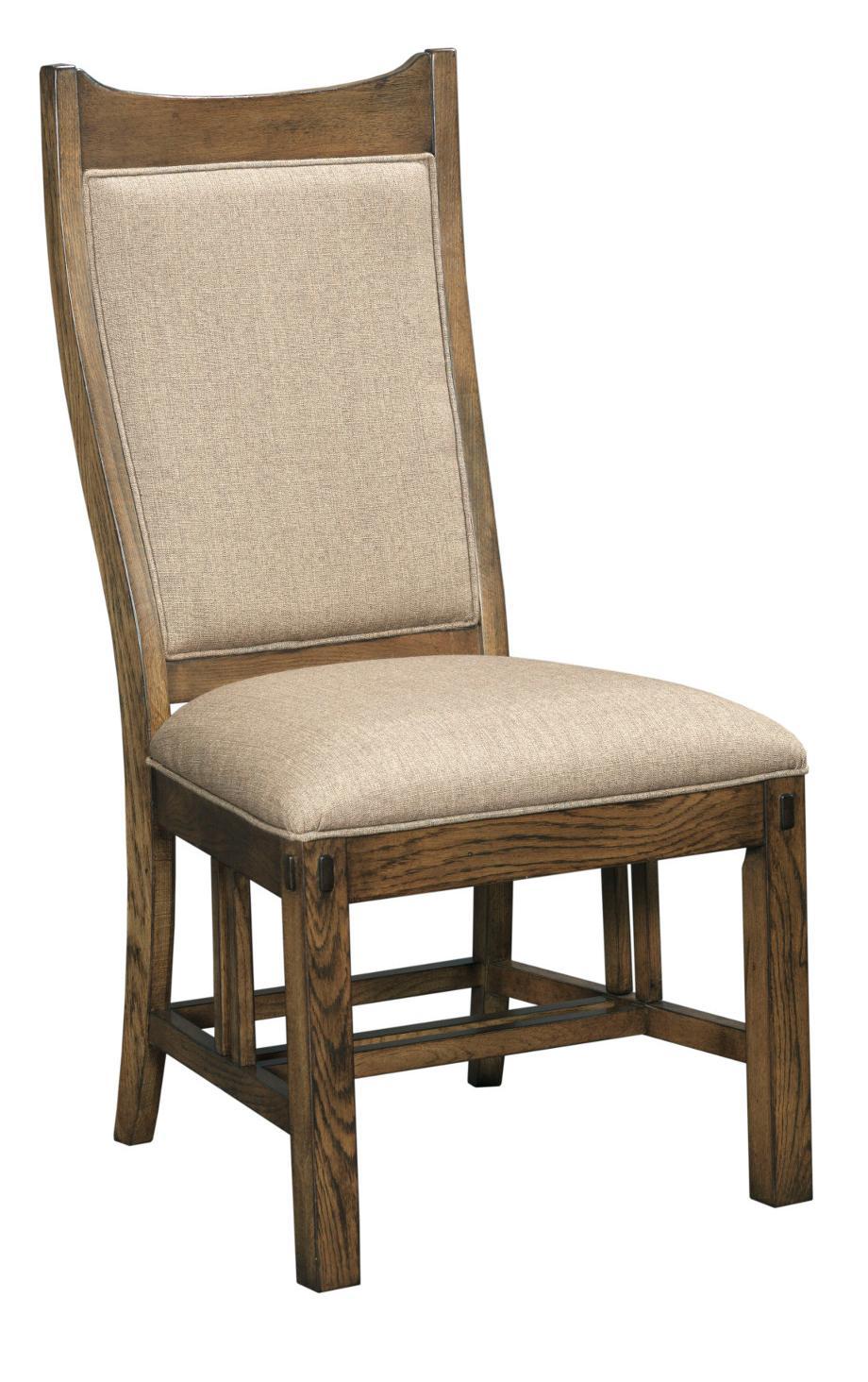 Kincaid Furniture Bedford Park Craftsman Side Chair - Item Number: 74-063