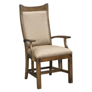 Kincaid Furniture Bedford Park Craftsman Arm Chair