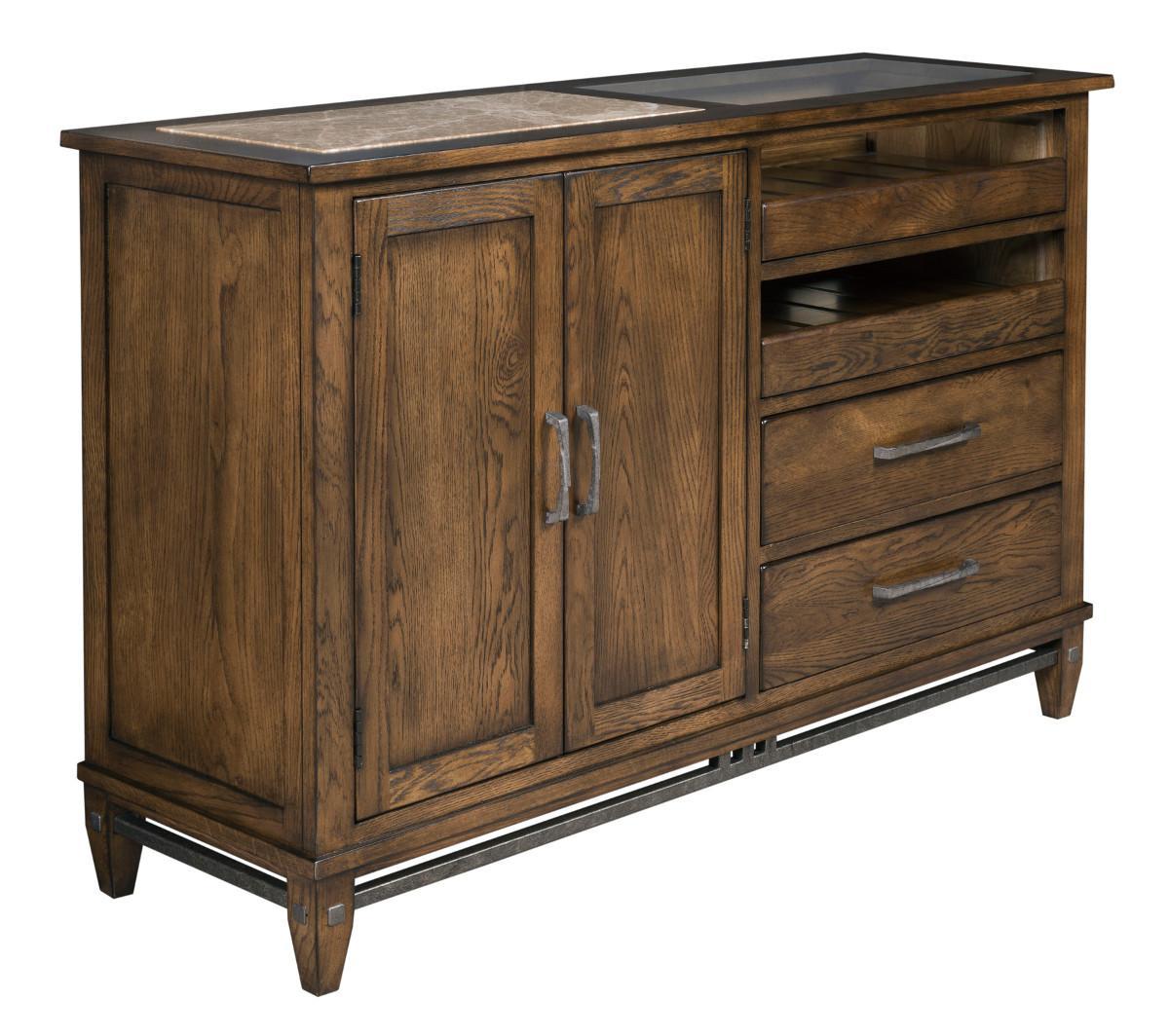 Kincaid Furniture Bedford Park Bedford Server - Item Number: 74-090