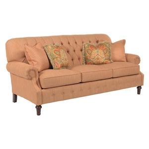 Kincaid Furniture Berkshire Elegant Stationary Sofa