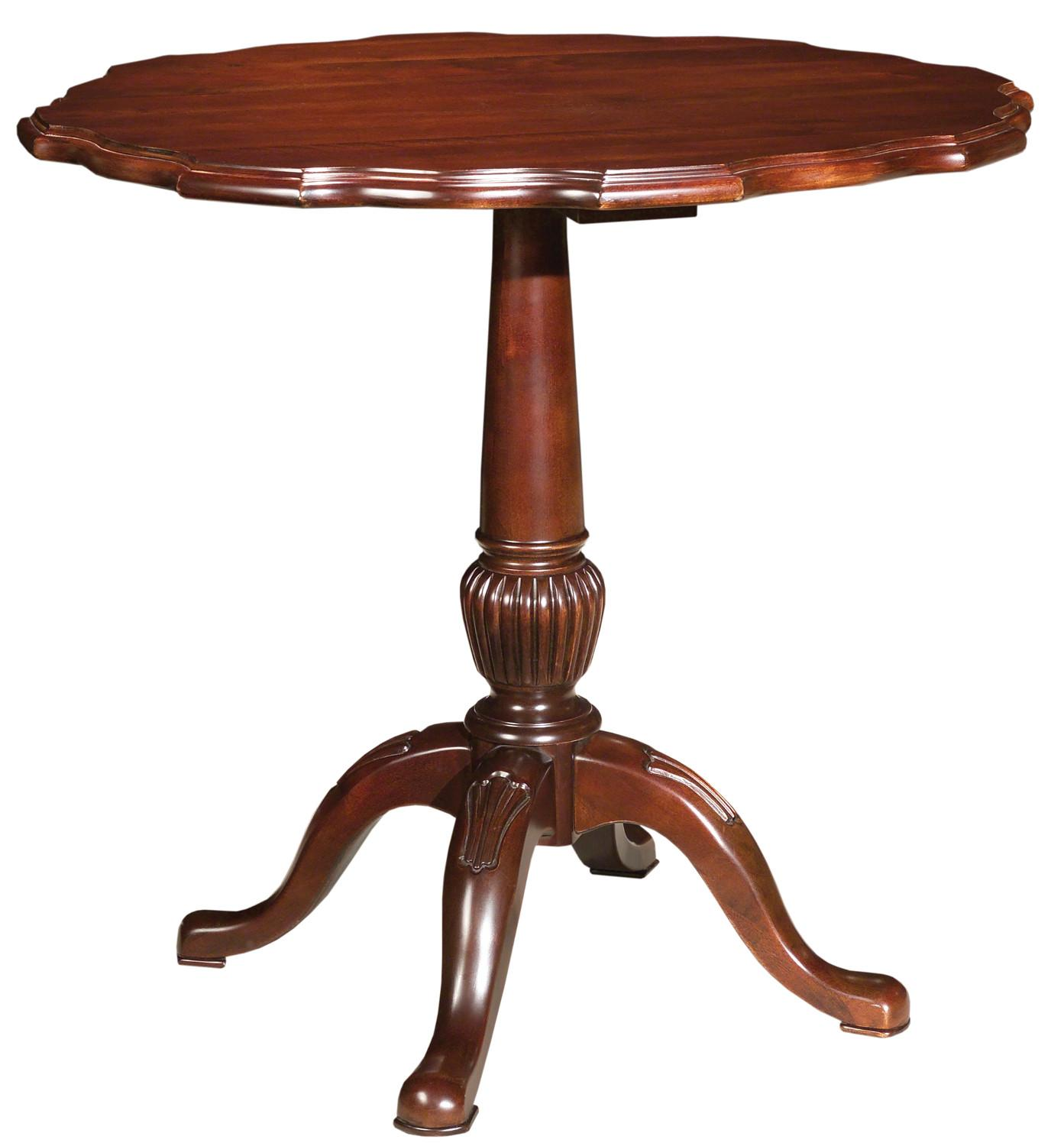 Carriage House Pie Crust Table By Kincaid Furniture