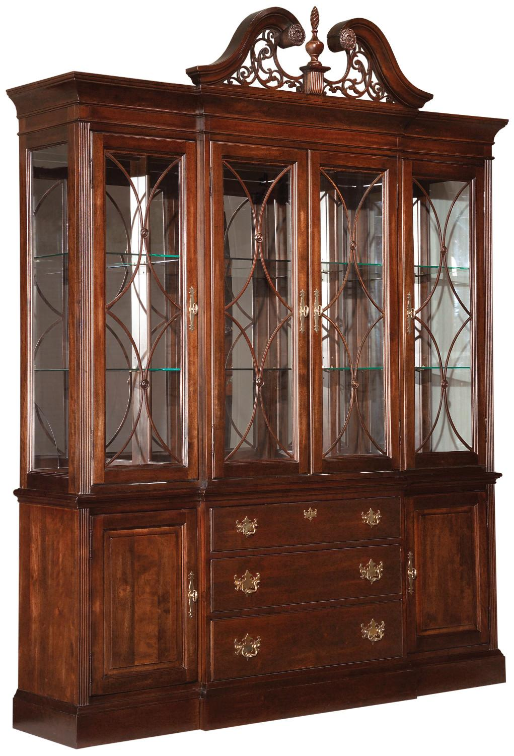 Carriage House Breakfront China Cabinet By Kincaid Furniture