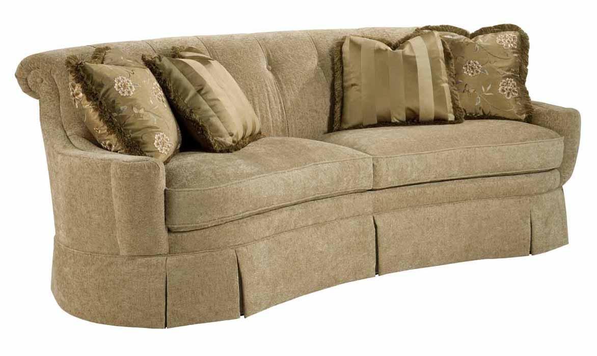 Carson Skirted Sofa by Kincaid Furniture at Johnny Janosik
