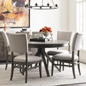 Kincaid Furniture Cascade Dining Table Set with 4 Chairs - Item Number: 863-701P+4x636